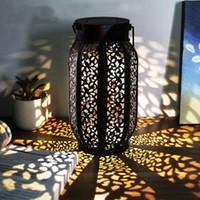 Tragbare Laternen 2 Packung Hängen Solar Flammenleuchten im Freien Wasserdichte Laterne Retro für dekorative Dekoration Equi