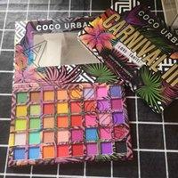 Coco Urban Carnival III Love Tahiti Shadows لوحات ظلال العيون الترا شيمر ماتي عينيه لوحة 40 ألوان