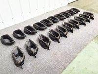 Paar G05 G06 Silber Edelstahl Auspuff-Schalldämpfer-Rohr Auto Glossy Black Car-Tipps für BMW X5 x6 x7 G07
