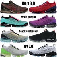 Yeni Varış Sinek 3.0 Koşu Ayakkabıları Erkek Noble Kırmızı Çin Hoop Düşler Güney Beach Siyah Yılan Doku Üçlü Beyaz Örgü Bayan Sneakers