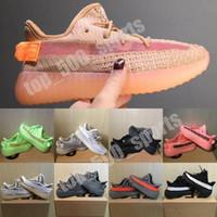 키즈 신발 Kanyes West V2 Rating Reflective Beluga 2.0 얼룩말 스니커즈 클레이 아기 소년 소녀 유아 소녀 유아 트레이너 운동화 검은 색 빨간색