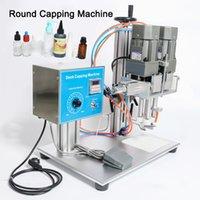 DHL frei! DesktopTrigge Kappe Verschließmaschine Schraube Flasche Halbautomatische Kunststoff Glas Wasch Dropper Spout Pouch bedeckende Maschine