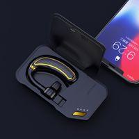 K21 بلوتوث الأعمال 4.2 سماعات الأذن، وتقنية بلوتوث اللاسلكية، الرياضة Sweatproof ممارسة سماعات، سماعات الأعمال المعلقة