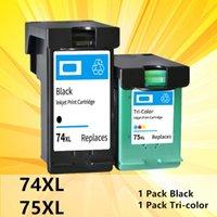 Cartouches d'encre 74XL 75XL pour 74 75 Cartouche Compatible J5780 D4260 C4480 4380 5280 4345 C4300 C4300 OfficeJet Imprimante C4280