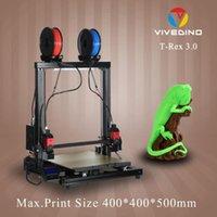 طابعة 3D مع فصل المزدوج X النقل لعالية الجودة متعدد الألوان / الطباعة متعدد المادية
