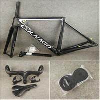 paquete de envío libre para la venta T1100 UD Colnago V3Rs Disco carretera carbono cuadros de bicicleta manillar de una silla Portabidones disco de marcos de bicicletas