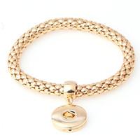 12pcs / lot Tendance Bijoux Charm Bracelet 18mm Ginger Snaps sur Bijoux Livraison gratuite Bouton Bracelet LY099