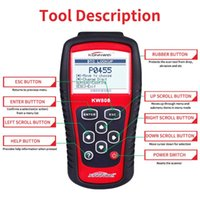 금속 탐지기 MS509 동일 KW808 자동차 오류 진단 기기 검출 디코더 스캐너 ELM327OBD2AL519