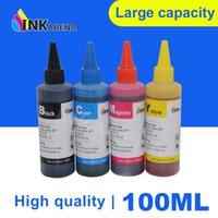 InkArena 100ml Tinta de tinta Kit de recarga para Canon PIXMA PG445 PG 445 PG-445 CL-446 PG 440 PG-440 PG440 CL441 Cartucho de tinta de impresora XL