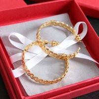 الأقراط NEW أزياء طارة دائرة لحزب النساء سيدة عشاق الزفاف هدية الخطوبة والمجوهرات مع BOX LZ