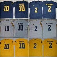 NCAA 10 Tom Brady 4 Jim Harbaugh 5 Jabrill Peppers 2 Charles Woodson 21 Desmond Howard Michigan Wolverines College Football jerseys
