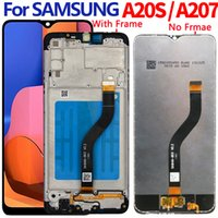 For Samsung A20S LCD screen display A207 A207F A207F DS A207FN A207W A207G DS with frame Assembly