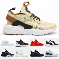 Huarache 4 IV Ultra Running Shoes -رجال للرجال النساء الكل الأحمر Whtie Huraches Mens Trainers Hurashing Sports Sneakers 36-46
