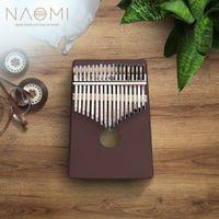 NAOMI 17 Tuşlar Kalimba Başparmak Piyano Müzik Aletleri Parmak Piyano Oyuncak Taşınabilir Piyano