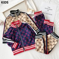 New autumn children suit sportswear boys suit Printed Hoodie...
