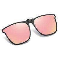 Sonnenbrille Juli Polarized TR90 Flip Up Clip auf Männer Pochromic Polarisierte Frauen Sonnenbrille Farbwechsel Nachtfahrt 8502