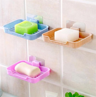 Bathroom Storage 4 Box Holder Basket Plastic Soap Strong Dis...