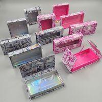 밍크 속눈썹 상자 미국은 속눈썹이 래쉬 박스 GGA3739-2 포장 속눈썹 돈없이 빈 래쉬 케이스 속눈썹 상자를 포장 달러