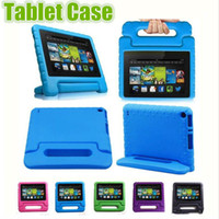 Kids Children Handle Stand EVA Foam Soft Shockproof Tablet C...