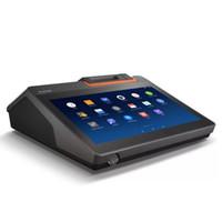 طابعات تسجيل النقدية طباعة شاشة تعمل باللمس آلة ترتيب 58mm 80mm طابعة تذكرة صغيرة