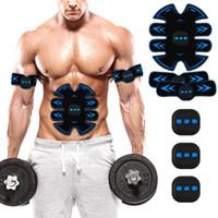 Acessórios Estimulador ABS Toner Muscular Recarregável EMS Abdomen Treinador Toning Fitness Equipamento
