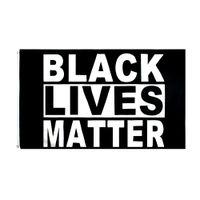 BLM Barış Protesto Siyah Hayatlar Madde Bayrağı Toptan Doğrudan Fabrika Gemiye Hazır Stok 90 * 150 cm 3x5 FTS