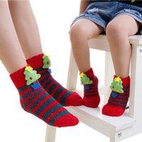 Mãe do bebê Crianças Socks Natal Cosplay Fantasia Xmas Padrões Tema Quente meias coloridas