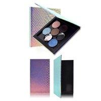 Ombre à paupières Magnétique Boîte à paupières Boîte de rangement Maquillage Maquillage Pallettes L, M Palette Glitter Taille de boîtier vide Q1O4