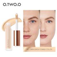 O.TWO.O liquide Correcteur crème imperméable pleine couverture Correcteur Long Lasting visage les cicatrices d'acné couverture lisse Hydratant Maquillage 9998