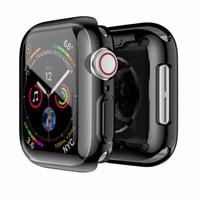 ل Apple Watch Case 360 Bumper + حامي الشاشة لسلسلة 1 2 3 4 5 6 SE 40 44mm