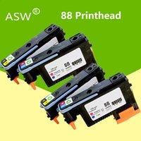 خراطيش الحبر ASW 2PK 4PK لمدة 88 رأس الطباعة رأس الطباعة C9381A C9382A PRO K550 K8600 K8500 K5300 K5400 L7380 L7580 L7590 طابعة