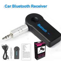 Bluetooth-Autoadapter-Empfänger 3,5mm AUX Stereo Wireless USB-Mini-Bluetooth-Audio-Musikempfänger für Smartphone MP3 mit Einzelhandelspaket