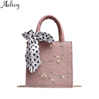Aelicy 2020 Fashion Women Crossbody Shoulder Bag Scarf Wild Messenger Bag One-Shoulder Small Square Designer Tote Bags Girls