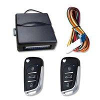 Bouton de système d'entrée sans clé de voiture universel STOCK START STOCK LED Keychain Kit Central Kit Serrure de porte avec télécommande Verrouillage Déverrouillage GPS Accès