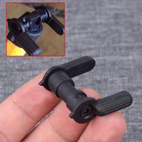 HQ .223 5.56 Selettore di sicurezza antincendio AR sicurezza Selettore Mil-Spec carbonio 8620 acciaio Button ausiliaria per AR-15 M4 Tactical Accessori