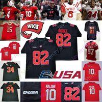 2020 Western Kentucky Hilltoppers WKU del jersey del fútbol universitario NCAA DeAngelo Malone Lucky Jackson Jahcour Pearson Juwuan Jones Jacquez Sloan