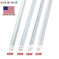 T8 4ft Tube Lights LED Bulb 18W 22W 28W 60W 80W 4feet 4ft LED T8 G13 Light Tube Shop Light Warehouse Tube Lamp