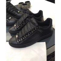 [Kutusu ile] Lüks Tasarımcı Arena Düşük Üst Sneakers Ayakkabı Kırmızı, Siyah, Beyaz Deri erkek Marka Kanye West Rahat Yürüyüş Flats Ayakkabı 38-46