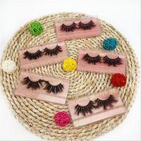 5D 20-25mm Ciglia 8 stili Eye Makeup False Lashes morbida spessi naturali falsi strumenti Ciglia Eye 3D Lashes bellezza di estensione