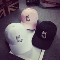 cappelli di Snapback ricamo Nero Adulto Unisex Casuale berretti da baseball di moda per le donne degli uomini sportiva nera Gorras Hip Hop piatto