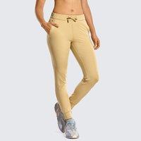 Pantaloni da corsa Syrokan Stretch Stretch Stretch Stretch Stretch Jogger Mish Pants Cuffing con tasche Casual Travel Lounge