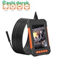 2m / 5m / 10m de cabo rígido e cabos macio opcional 2600 mAh endorscope suporte de câmera de gravação de vídeo minúscula câmera com luz 8pcs LED
