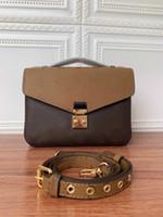Crossbody Bags Cross Body Quality Couro Mulheres Messenger Ombro Body Bolsa Metis 40780