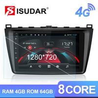 Isudar H53 4G 1280 * 720 안드로이드 1 딘 자동차 라디오 6 2 3 GH 2007년부터 2012년까지 자동차 멀티미디어 GPS 8 코어 4G ROM 64G 카메라 DVR 자동차 DVD를