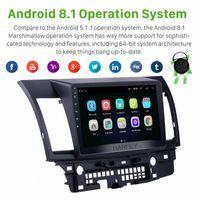 Harfey Android 8.1 10.1 Touchscreen GPS audio stereo di navigazione radio per Mitsubishi Lancer Ex Car Multimedia Player 3G Wifi Car Dvd T w9gj #