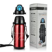 Großhandelsqualität 800ml große Kapazitäts-Edelstahl Trinkflasche Sports Thermos-Vakuumflasche zum Trinken