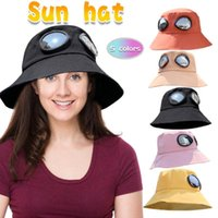 Шляпы, шарфы перчатки устанавливают модные взрослые холст на открытом воздухе очки рыбака шляпа ковш для шляпы обратимых 5 цветов солнце иностранец 8.25