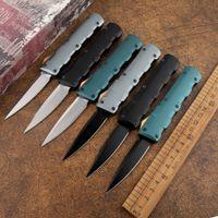 Açık mini taktik keskin D2 bıçak alüminyum kolu açık kamp av hayatta kalma kendini savunma aracı mutfak meyve maket bıçağı