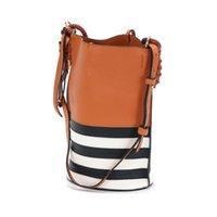 Borsa Borsa Lady Lady 100% in pelle Pannellata di alta qualità Tote Bags Fashion Casual Moda Genuine Donne Crossbody Spalla QtxQK