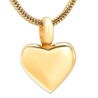 Мемориальная Подвеска из нержавеющей стали Blank Малого сердца Кремации для Ashes Urn Keepsake Сувенирных ожерелий для женщин ювелирных изделий